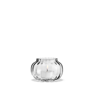 Holmegaard Primula Tealight Holder, Clear