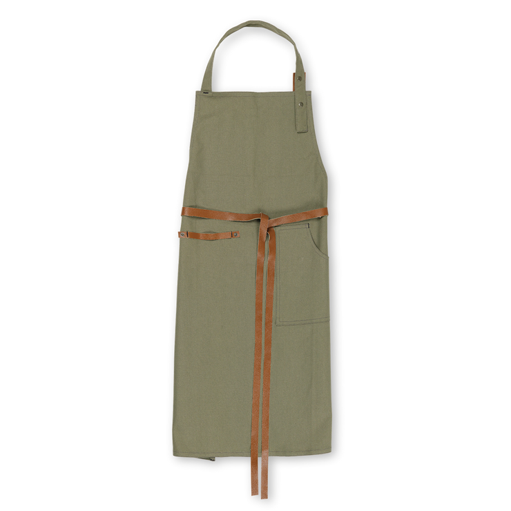 Juna RAW Apron, Dusty Green