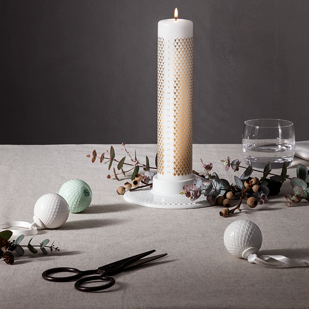 Lyngby-Rhombe-Advent-Candle-9.8""