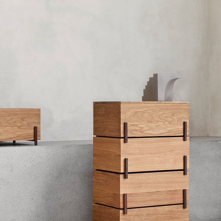 stack storage boxes with lid for smart storaging