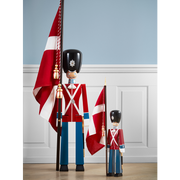 Kay Bojesen Standard-Bearer Large Red/Blue/White