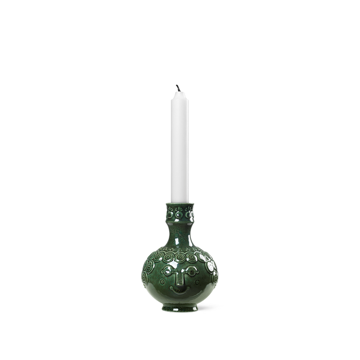 Bjørn Wiinblad Symphony Ophelia Candle Holder, Dark Green
