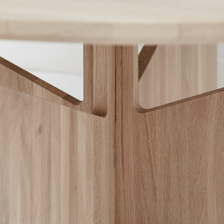 kristina dam studio oak table small round