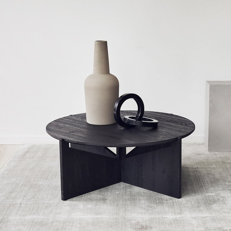 kristina dam studio xl coffee table black wood