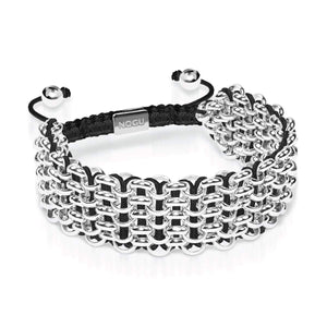 Supreme Kismet Links Bracelet | Silver | Black | Deluxe | Engravable