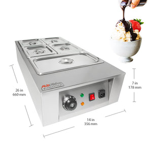 220V / 5 tanks, commercial chocolate tempering machine