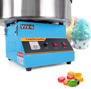 Blue, Commercial Candy Floss Maker