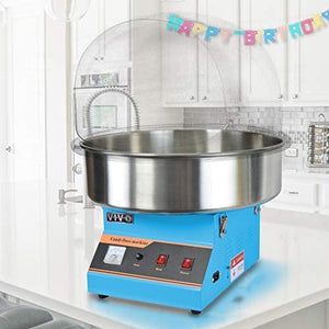 Blue with Bubble Shield, Commercial Candy Floss Maker