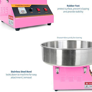 Pink, Commercial Candy Floss Maker