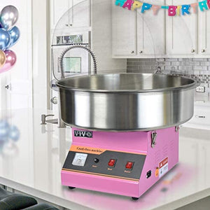 Pink with Bubble Shield, Commercial Candy Floss Maker