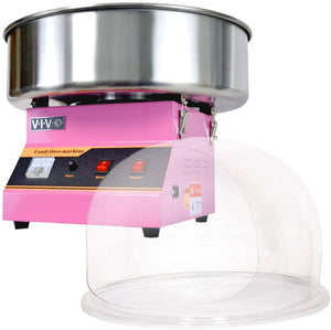 Pink with Bubble Shield, Cotton Candy Machine