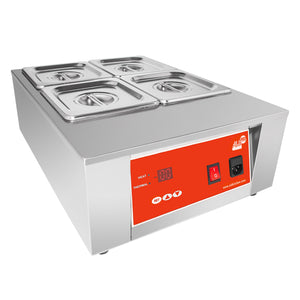 220V / 4 tanks, professional chocolate melter