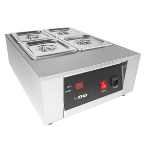 110V / 4tanks, chocolate warmer machine