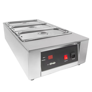 110V / 3tanks, professional chocolate melter