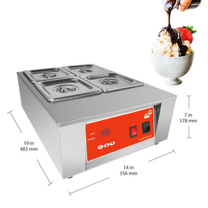 110V / 4 tanks, electric food warmer