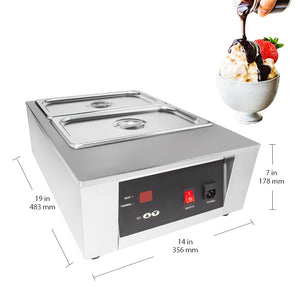 220V / 2tanks, chocolate melting machine