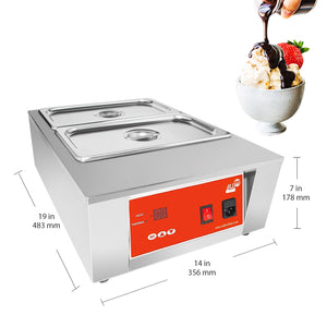 220V / 2 tanks, chocolate melting machine