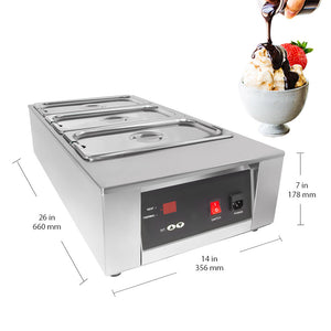 220V / 3tanks, chocolate melting machine
