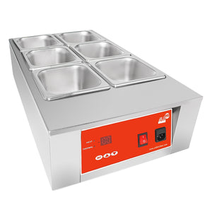 220V / 6 tanks, commercial chocolate melter