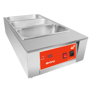 110V / 3 tanks, electric food warmer