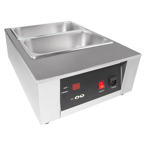 110V / 2tanks, chocolate warmer machine