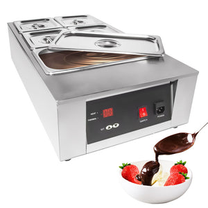 110V / 5tanks, commercial chocolate melter
