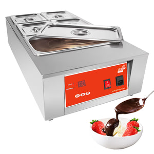 220V / 5 tanks, professional chocolate melter