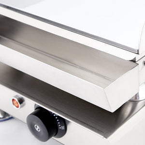 Small / 220V, flat griddle