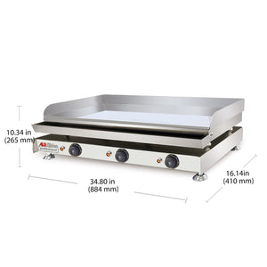 Big / 220V, flat griddle