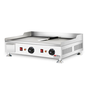 Medium / 220V, flat griddle