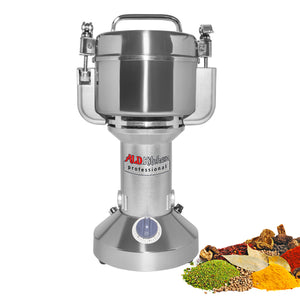 SY-3000L Electric Grain Mill Commercial | Grain Grinding Machine | Powerful Motor | Stainless Steel