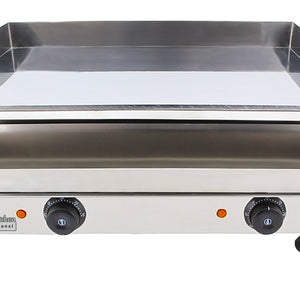 Medium / 110V, flat griddle