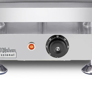 Small / 110V, flat griddle