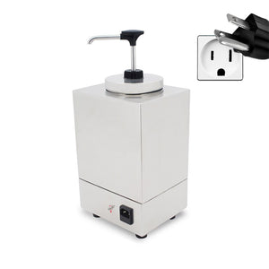 NicoPower Electric Sauce Dispenser | Topping Warmer with Pump | Sauce Dispenser | Commercial and Home Use