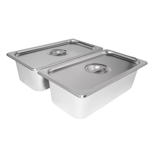 110V / 2 tanks, portable food warmer