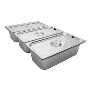 220V / 3tanks, portable food warmer