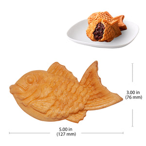 Manual / 110V, fish shaped waffle