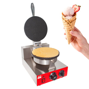 commercial waffle cone make