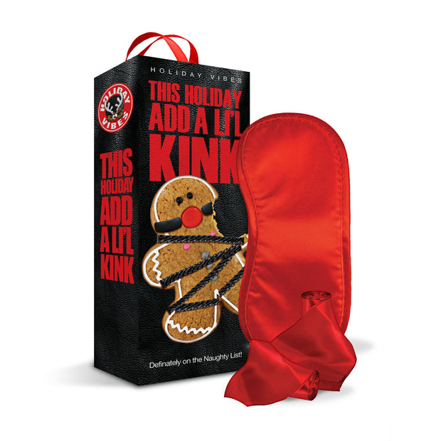 Holiday Vibes Naughty List Gift Add a Lil Kink - Blindfold, Wrist and Ankle Sashes GN-1000208