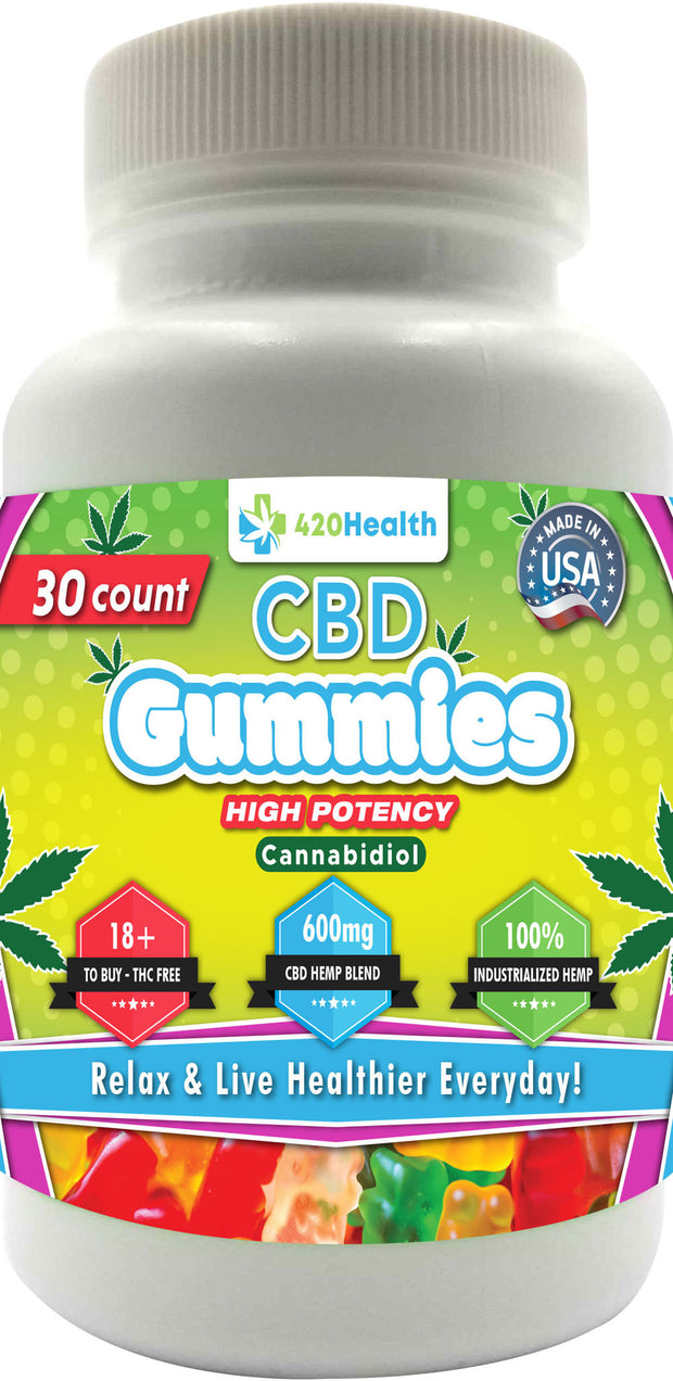 420 Health Hemp Gummies 30ct