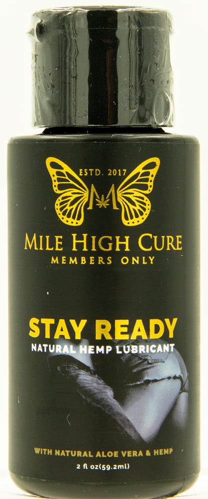 Stay Ready All Natural Aloe Vera Hemp Lubricant