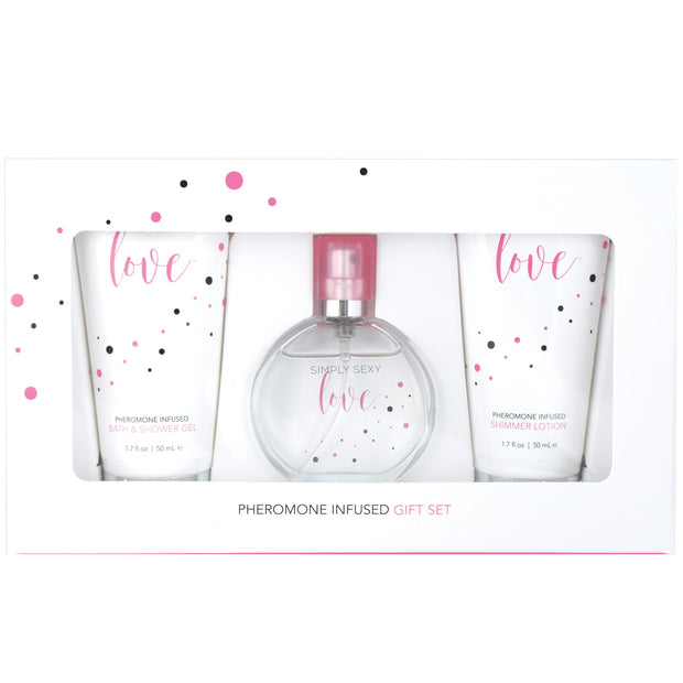 Simply Sexy Love Pheromone Infused Perfume Gift Set