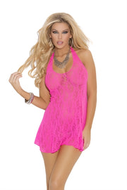 Halter Style Lace