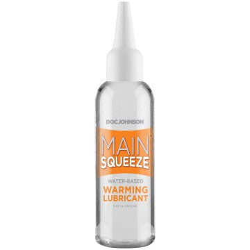 Main Squeeze Warming Lube