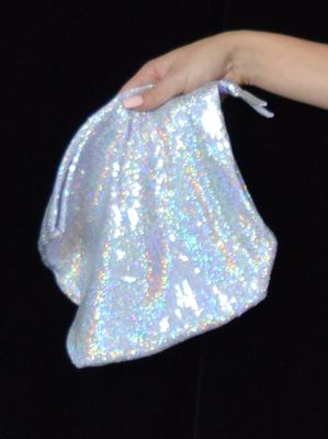 Sequin Money Bag