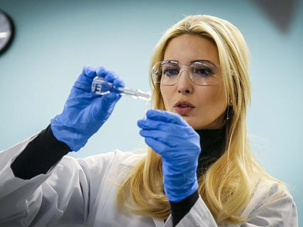 Ivanka Trump Pretends to Tests some Vape Juice