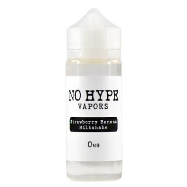 No Hype Vapors - Strawberry Banana Milkshake