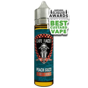 Cafe Racer Craft E-Liquid - Peach Guzzi