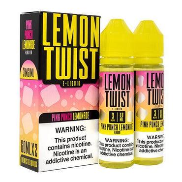 Lemon Twist E-Liquids - Pink Punch Lemonade