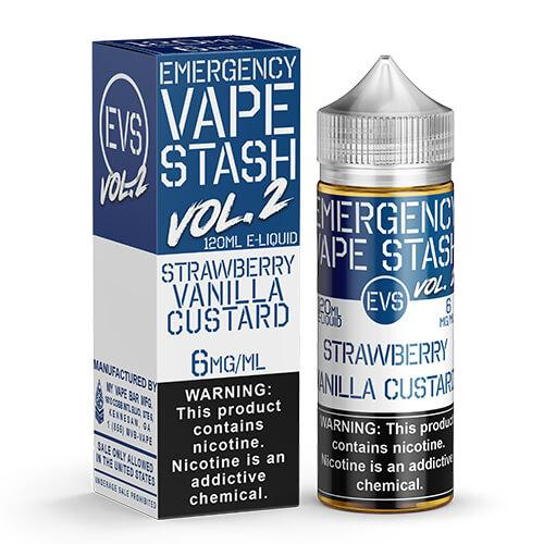 Emergency Vape Stash Vol 2 - Strawberry Vanilla Custard